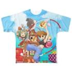 ドローラインの海腹川背Fresh! Full graphic T-shirts