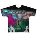 ゲーム専務の地獄 Full graphic T-shirts
