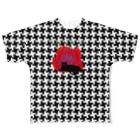 ゴータ・ワイのFANTASIA~黒猫と薔薇 Full graphic T-shirts