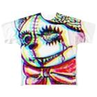 Yuaのアンデッドベア Full graphic T-shirts