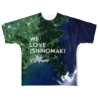 WEAR YOU AREの宮城県 石巻市 Tシャツ 両面 Full Graphic T-Shirt