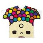 imaginationsの大仏ちゃん Full graphic T-shirts