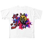 キャットCのこうじょうけんがくの亜空間からギリギリ脱出したキャットC Full graphic T-shirts