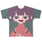 みじんこさん。のドットなみじんこさん。 Full graphic T-shirts