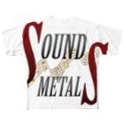 SOUNDMETALSのSOUNDMETALS Full graphic T-shirts