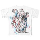 tunのバクバクなぞ〜しん Full graphic T-shirts