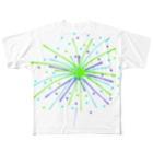らむず屋の花火 Full graphic T-shirts