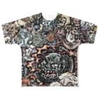 G-laboの戯画百妖 弐 Full graphic T-shirts