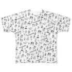 東高円寺U.F.O.CLUB webshopのU.F.O.CLUBオリジナルフルグラフィックTシャツ Full graphic T-shirts