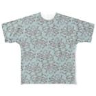 nemunoki paper itemの水玉海洋生物 イイダコ All-Over Print T-Shirt