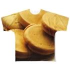 lucky wonder worldの今川焼 Full graphic T-shirts