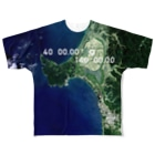 WEAR YOU AREの秋田県 南秋田郡 Tシャツ 両面 Full graphic T-shirts