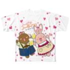 日枝野小路のノービア、ノーライフ!二人で乾杯! Full graphic T-shirts