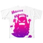 桃原のマニアックモンスター Full graphic T-shirts