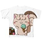itomeanimalsのじぇーむずフルグラフィックTシャツ Full graphic T-shirts