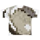 Pの岩牡蠣 Full graphic T-shirts
