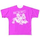 リミッツのまったリミッツ ケモなふたり Full graphic T-shirts