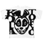 A STORE MACROMANCEのKOTAくん Full graphic T-shirts