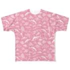 猫と釣り人のSALTWATER FISH_WP_FG All-Over Print T-Shirt