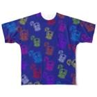 歌うバルーンパフォーマMIHARU✨〜あいことばは『笑顔の魔法』〜😍🎈の10周年記念Tシャツ💙ミハビエ💙 Full graphic T-shirts