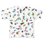 alp【 art love peace】のぴと Full graphic T-shirts