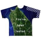 WEAR YOU AREの北海道 天塩郡 Full graphic T-shirts