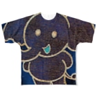 YONEのぞうたん Full graphic T-shirts