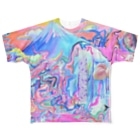 セロリ共和国のCure Peach Full graphic T-shirts