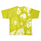 megumiillustrationのBE WOMAN フルグラフィックTシャツ