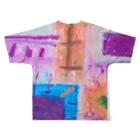 GreenRoseの個性豊かに Full graphic T-shirtsの背面
