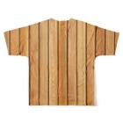 sauna ikitaiのサウナ室 Full graphic T-shirtsの背面