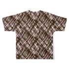 AmanoLokiの例のチョコ Full graphic T-shirtsの背面