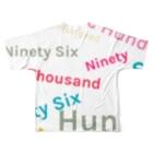 R.kitazawaのOne Thousand Full graphic T-shirtsの背面