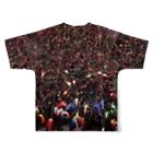 late_nakaの祭り Full graphic T-shirtsの背面
