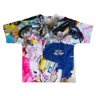 VULGAR FACTORYのゴ☆ミ Full graphic T-shirtsの背面