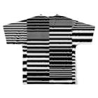 銀鈴堂(ミッドナイトクラブ)のボーダー Full graphic T-shirtsの背面
