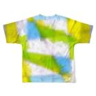 水草の窓 Full graphic T-shirtsの背面