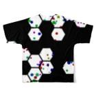 レオナのHexagons フルグラフィックTシャツ