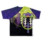 ULIの二季草 Full graphic T-shirtsの背面