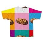 ほどほど満足 住吉 沼津本店の肉2 Full graphic T-shirtsの背面