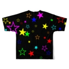Mr/MonkeyyyのFull Of Stars Full graphic T-shirtsの背面