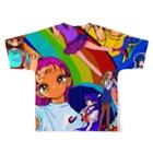 吉田南ナ子の総 Full graphic T-shirtsの背面