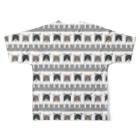 51-86のはちまるパターン Full graphic T-shirtsの背面