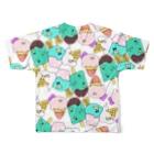 HIKI DE 物 SHOPのペンギンアイスフルグラフィックTシャツ