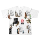 cheeの酔猫シリーズ Full graphic T-shirtsの背面