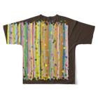 ずぅーっと。の「こどもごころのぽぉけっと。」 フルグラフィックTシャツ