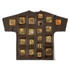 ずぅーっと。の「こどもごころのぽぉけっと。」 Full graphic T-shirts