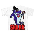 PLAY clothingのHAT  SHARK R ① Full graphic T-shirts