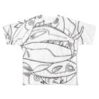 megumiillustrationのAJI フルグラフィックTシャツ