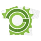 Green CogのGreen Cog Cog Logo Full graphic T-shirts